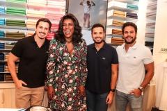 Daniel Asfora, Rachel Maia,  André Farias e Leonardo Monteiro