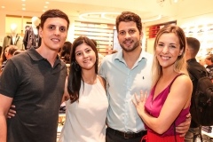 Maximilian Matioski, Raquel Spinelli, João Duque e Stefane Matioski