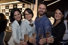Alexandra Viana, Carol Crisóstomo, Márcio Aldigueri e Deyse Cavalcanti