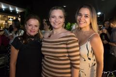 Ana Cristina Arruda, Greyce Viana e Vitória Costa