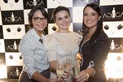 Carol Crisóstomo, Renata Valentim e Dayse Cavalcanti