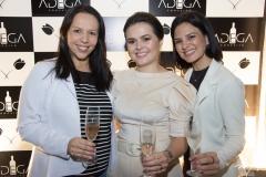 Jaqueline Castilho, Renata Valentim e Alexandra Viana