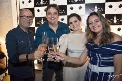 Old Soares, Vicente Pessoa, Renata-Valentim e Patrícia Melo