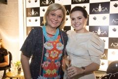 Priscila Cavalcante e Renata-Valentim
