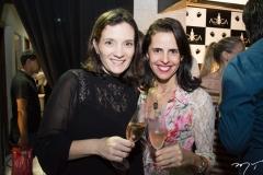 Raquel Aderaldo e Eliana Barreiro