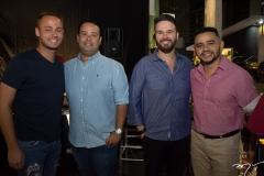 Rodolfo Joaquim, Rafael Joca, Márcio Aldigueri e Rafael Costa
