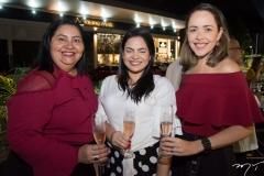 Sulamita Nunes, Raissa Alves e Patricia Sampaio