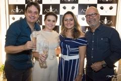 Vicente Pessoa, Renata Bonfim, Patrícia Melo e Old Soares