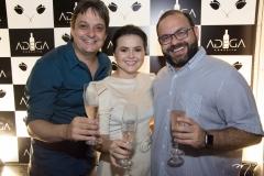 Vicente Pessoa, Renata Valentim e Victor-Costa