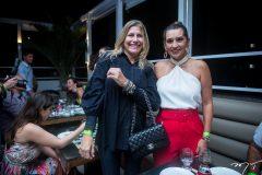 Eveline Duarte e Márcia Travessoni