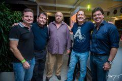 Marcos André Borges, Fernando Castro Alves, Eptárcio Vasconcelos, Rodolfo Trindade e Wanderley Filho