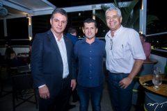 Murílo Santa Cruz, Erick Vasconcelos e Alberto Augusto