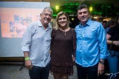 Paulo César Norões, Simone Moraes e Alexandre Pereira