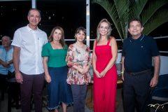 Regis Medeiros, Suemi Vasconcelos, Circe Jane, Leiliane Vasconcelos e Fernando Castro Alves