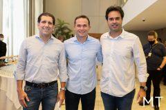 Jonathans Costa, Fábio Albuquerque e Sergio Miranda