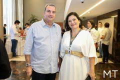 Kalil Otoch e Renata Menezes
