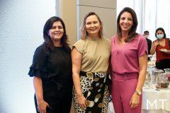 Karine Gomes, Renata Paula e Ilnah Vasconcelos