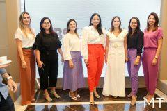 Mirela Morotti, Karine Gomes, Camile Studart, Carol Pontes, Renata Santos, Patricia Quinto e Ilnah Vasconcelos