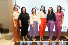 Mirela Morotti, Karine Gomes, Camile Studart, Carol Pontes, Patricia Quinto, Ilnah Vasconcelos