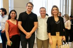 Taysa Cardoso, Marcelo Fiuza, Ricardo Bezerra e Suzana Fiuza