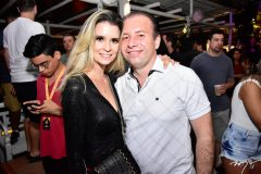 Jessica Ramone e Edson Pontes