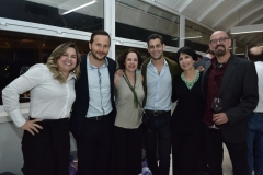 Ana Quezado, Thiago Braga, Regina Teixeira de Barros, Giancarlo Hannud, Denise Mattar e Guilherme Isnard