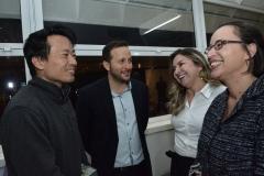 Andre Kondo, Thiago Braga, Ana Quezado e Virginia Queiroz