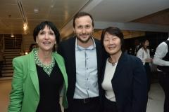 Denise Mattar, Thiago Braga e Marli Matsumoto