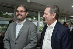 Edson Queiroz Neto e Claudio Rocha