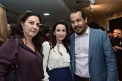 Marina Lisbona, Michele Uchoa e Antonio Almeida