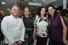 Nei Vargas, Regina Pinho de Almeida, Carolina Vendramini e Yannick Carvalho