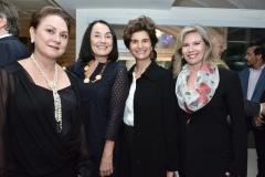 Paula Queiroz Frota, Maria Lucia Segall, Fernanda Feitosa e Bia Perlingeiro