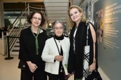 Regina Teixeira de Barros, Aracy Amaral e Lenise Queiroz Rocha