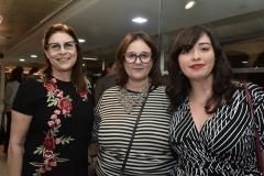 Vera Schettino, Camila Perlingeiro e Amanda Porto