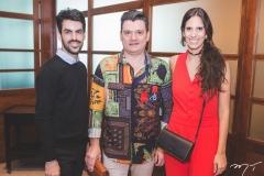 Joaquim Neto, Cristian Paipa e Carol Assad