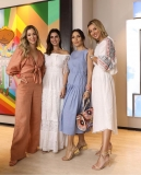 Helena Lunardelli, Nicole Pinheiro, Lala Noleto e Claudia Bartelle