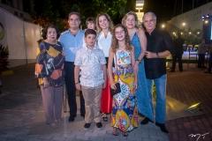 Edyr Rolim, Júlia, Marco, Beatriz, Edson Queiroz Neto, Ticiana Rolim Queiroz, Stella E Pio Rolim