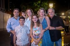 Edson Queiroz Neto, Júlia, Marco, Beatriz, Ticiana Rolim Queiroz, Stella E Pio Rolim