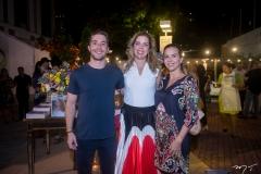 Guilherme Rolim, Ticiana Rolim Queiroz E Isabela Rolim