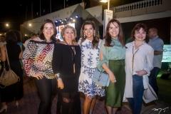 Lia Freire, Vera Costa, Márcia Travessoni, Cláudia Alexandre E Chris Leite
