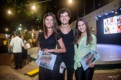 Luiza Kemp, Davi Cartaxo E Marina Brasil