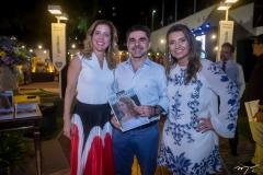 Ticiana Rolim Queiroz, Isaac Furtado E Márcia Travessoni