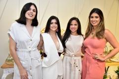 Juliana Castro, Roberta Romcy, Helena Romero e Larissa Ximenes