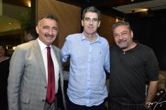 Artur Bruno, Geraldo Luciano e Cláudio Silveira