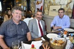 Evandro Colares, Artur Bruno e Geraldo Luciano