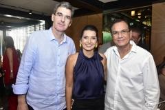 Geraldo Luciano, Márcia Travessoni e Beto Studart