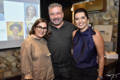 Helena e Cláudio Silveira e Márcia Travessoni