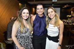 Nathalia Pinheiro, Márcia Travessoni e Mirella Freire