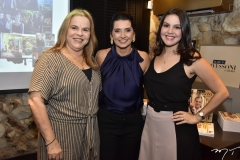 Raquel Bruno, Márcia Travessoni e Karol Bruno