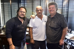 Roberto Freire, Fernando Travessoni e Evandro Colares